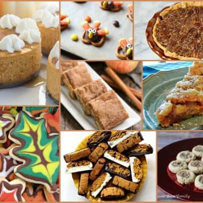 Amazing Thanksgiving Dessert Recipe Ideas