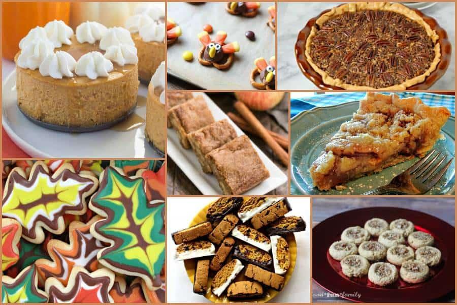 Amazing Thanksgiving Dessert Recipe Ideas | This Mama Loves