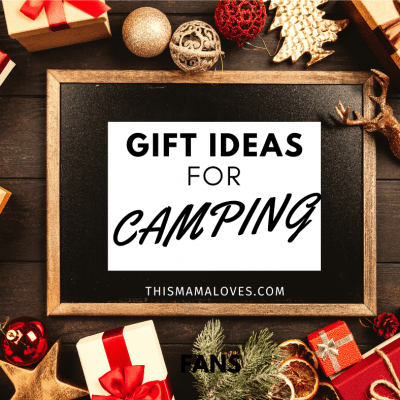 With great camping trips, comes lots of gear! With the holidays around the corner, you will love these great Holiday Gift Ideas For Campers.