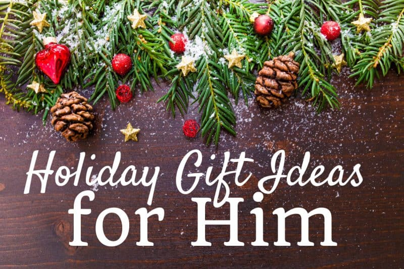 Holiday Gift Ideas for Him from This Mama Loves