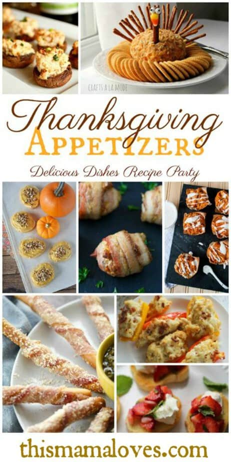 The Perfect Thanksgiving Appetizer Recipes from This Mama Loves