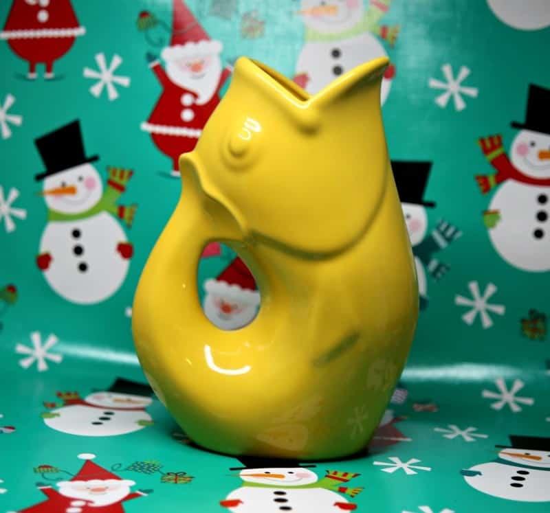gurgle pot yellow