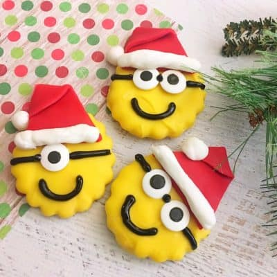 How to Make Santa Minion Cookies
