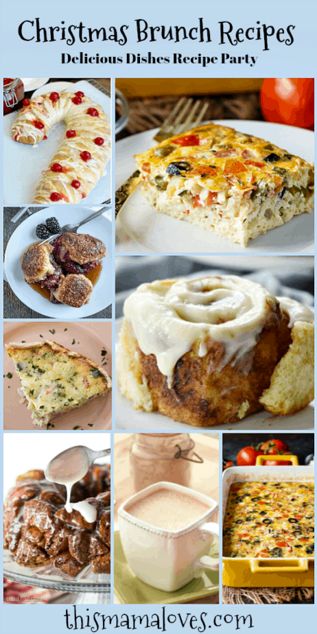 The Best Christmas Brunch Recipes This Mama Loves blog