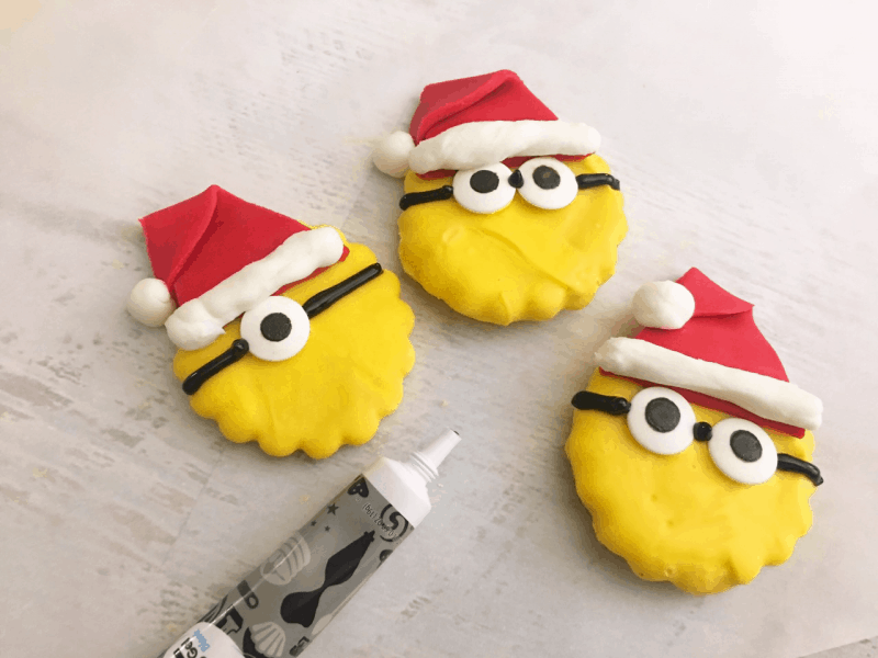 minions christmas cookies 11