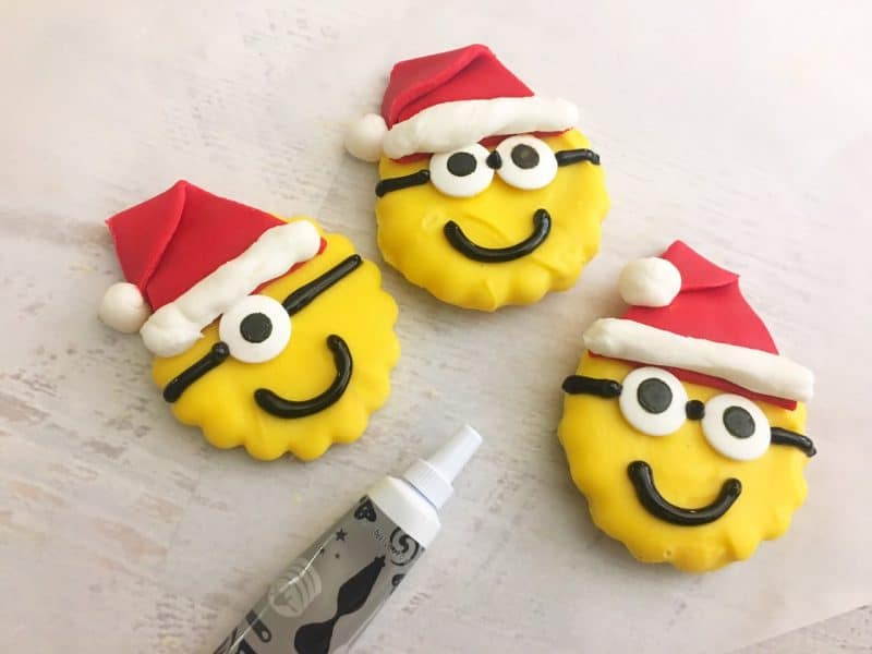 minions christmas cookies 12