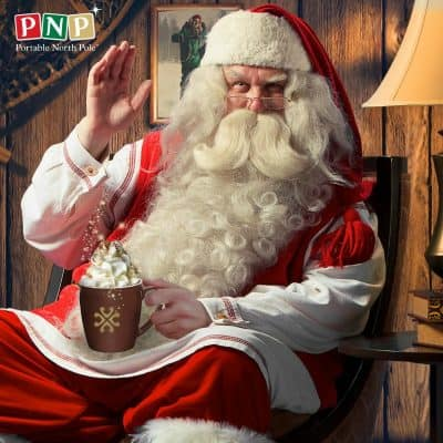 How to send personal videos from Santa with Portable North Pole