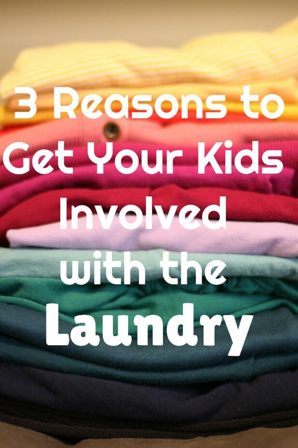 3 Reasons to Get Your Kids Involved with the Laundry #NewYearNewTide