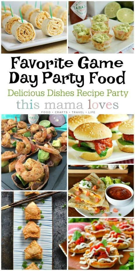 Favorite Game Day Party Food Recipes | Delicious Dishes Recipe Party | This Mama Loves