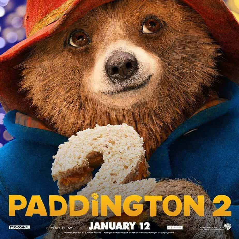 Paddington 2 Movie in theaters NOW- the world's most beloved bear is back, marmalade sandwich in hand, to get his Aunt a special 100th birthday gift. As with all Paddington stories, chaos ensues, and there's an adventure!  + prize pack giveaway! #Paddington2 #WBsponsored