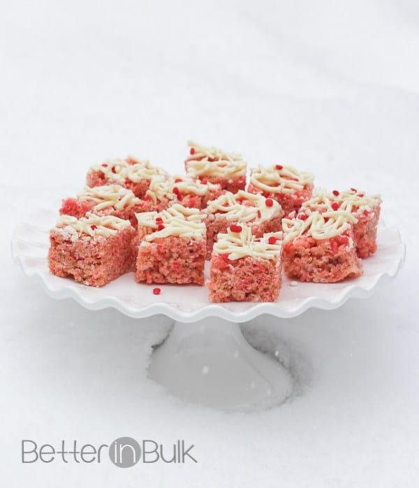 Strawberry Rice Krispie Treats from Food Fun Family