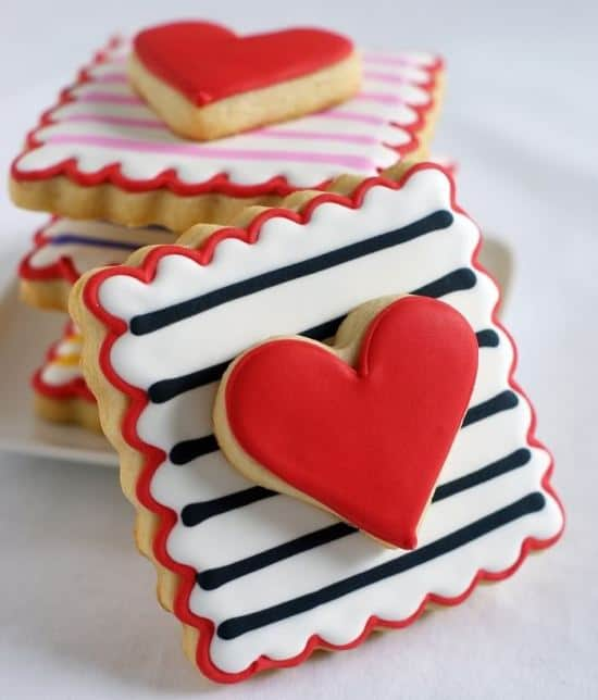 Valentine Cookie Recipes from Easy Holiday Ideas