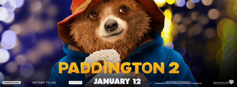 Paddington movie banner Paddington 2 movie