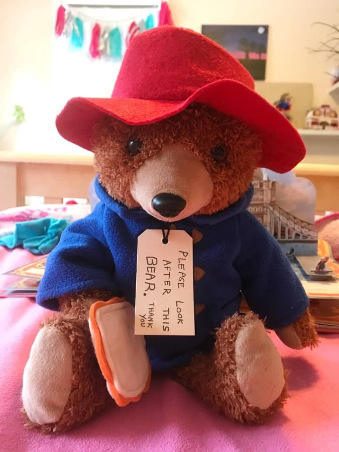 paddington 2 movie bear