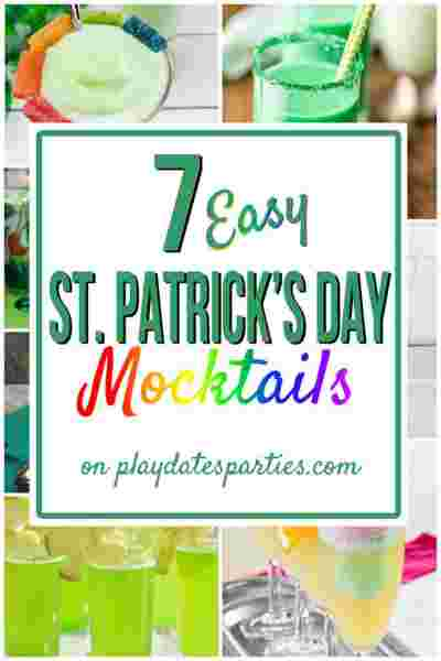 St. Patrick's Day Mocktails for Kids