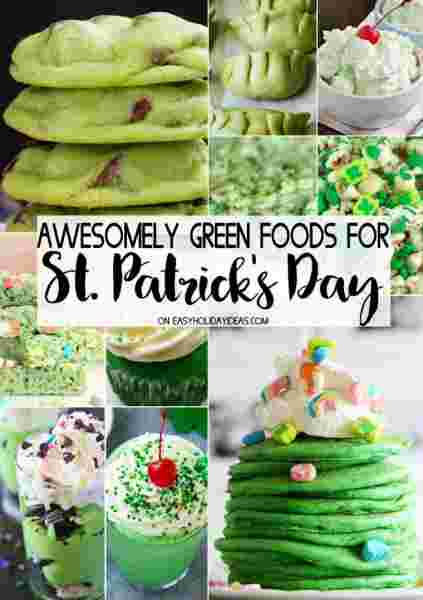 Awesomely Green Recipes from Easy Holiday Ideas