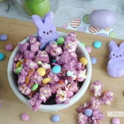 Bunny Bait Easter Popcorn Recipe