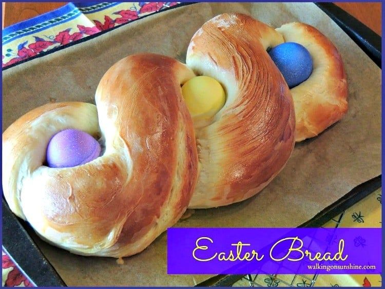 Easter Bread from Walking in Sunshine Recipes