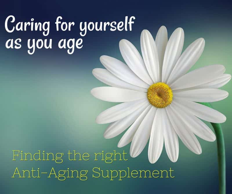Finding the right anti aging supplement