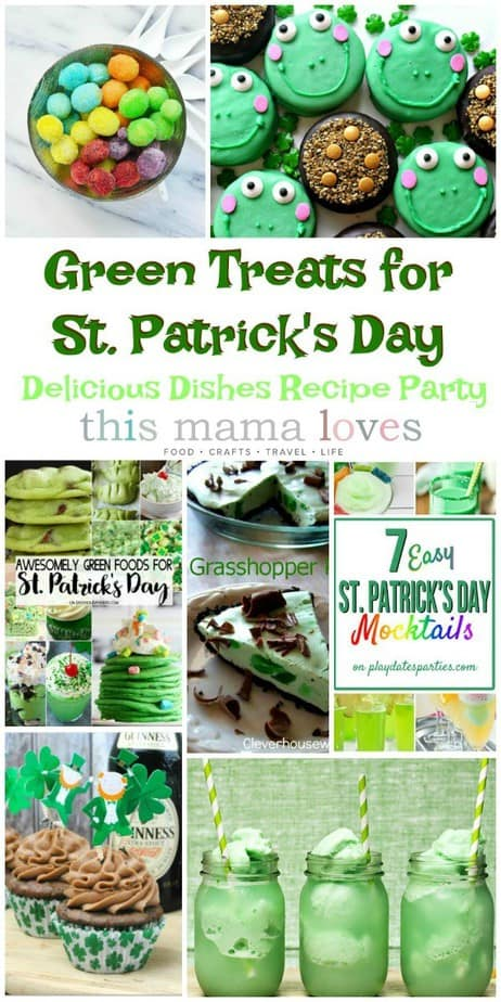 Green Treats for St. Patrick's Day from This Mama Loves