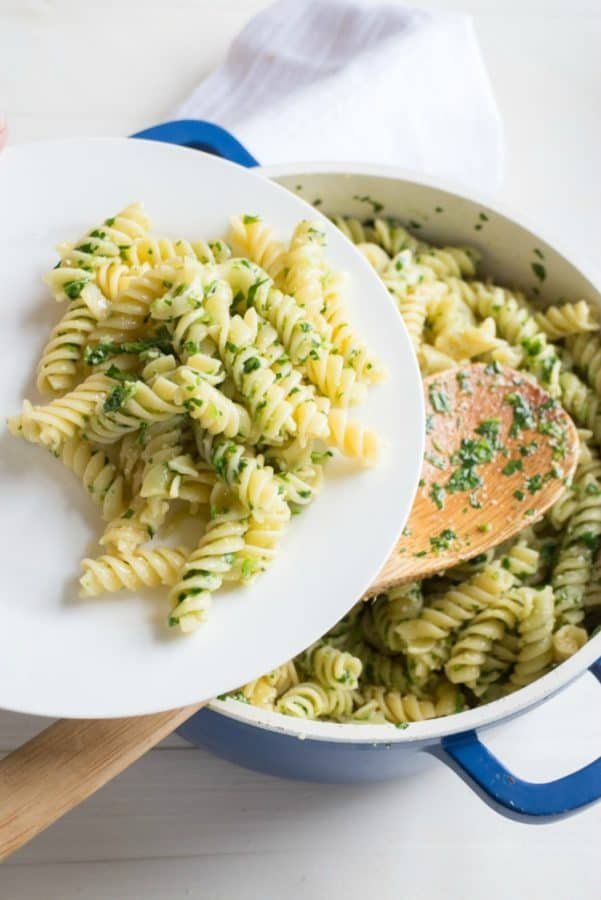 Parsley-Parmesan-Pasta-from-Brookklyn-Farm-Girl