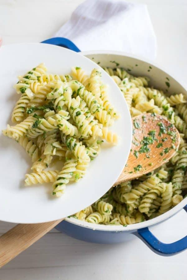 Parsley-Parmesan-Pasta-from-Brookklyn-Farm-Girl
