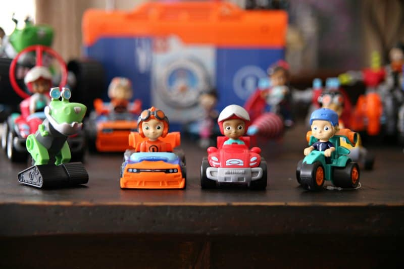 Rusty Rivets toy cars