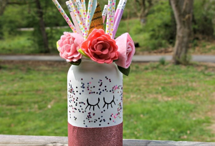 Cute DIY Mason Jar Unicorn Craft Tutorial