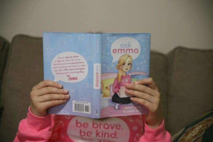 Reading Ask Emma Book Sheryl and Carrie Berk