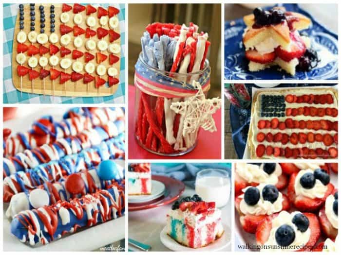 Red White Blue Patriotic Recipes from This Mama Loves