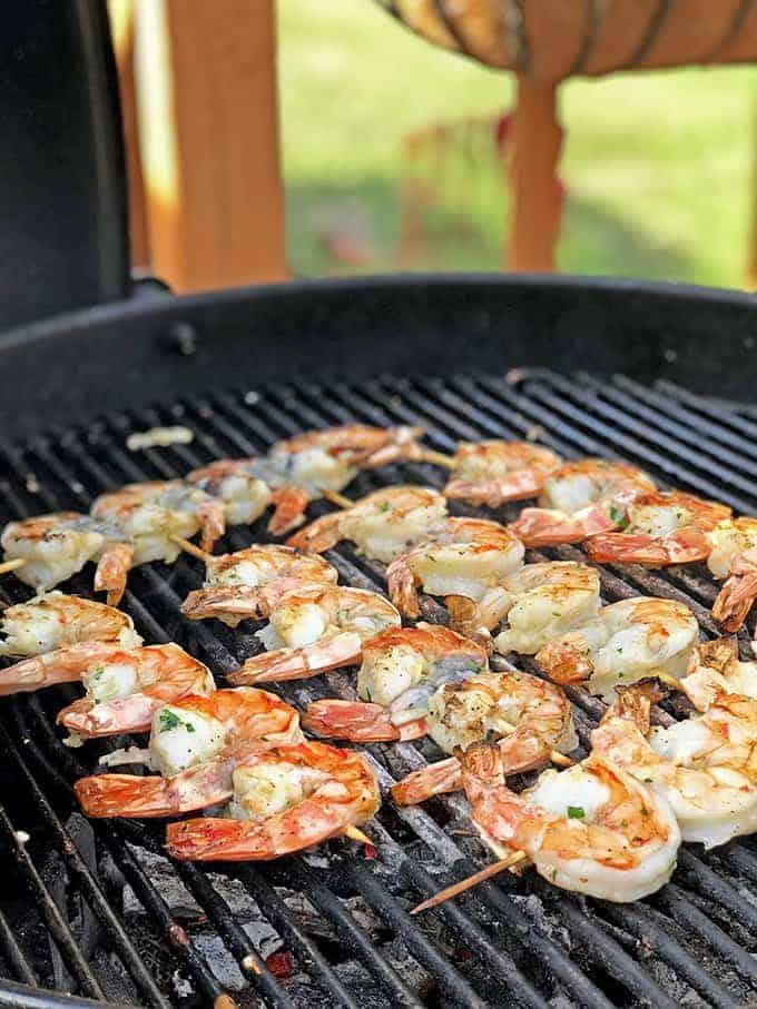 Greek Style Grilled Shrimp from Platter Talk