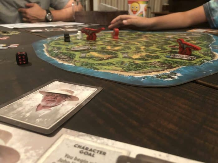 jurassic world board game