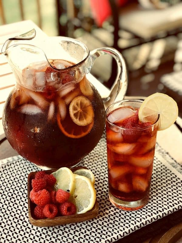 Sugar Free Raspberry Sweet Tea from Uncommon Designs
