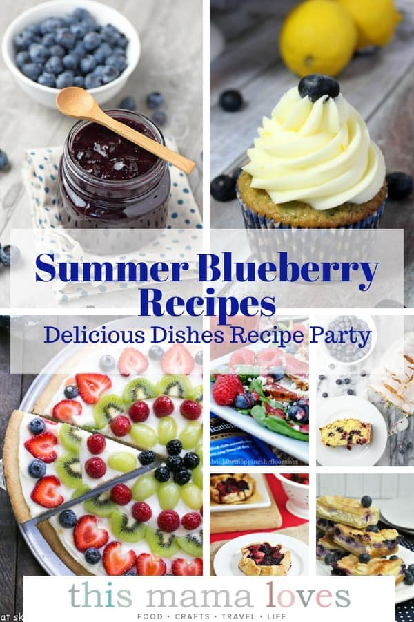Summer Blueberry Recipes from This Mama Loves