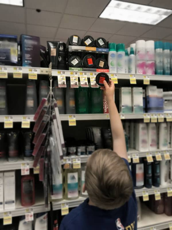 axe products on shelf