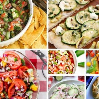 Farm Fresh Summer Veggie Recipes