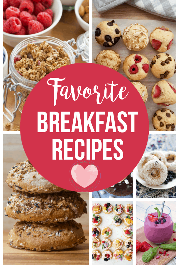 Back to School Breakfast Favorite Breakfast Recipes
