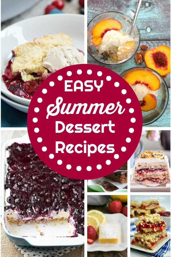 Easy Summer dessert recipes from This Mama Loves