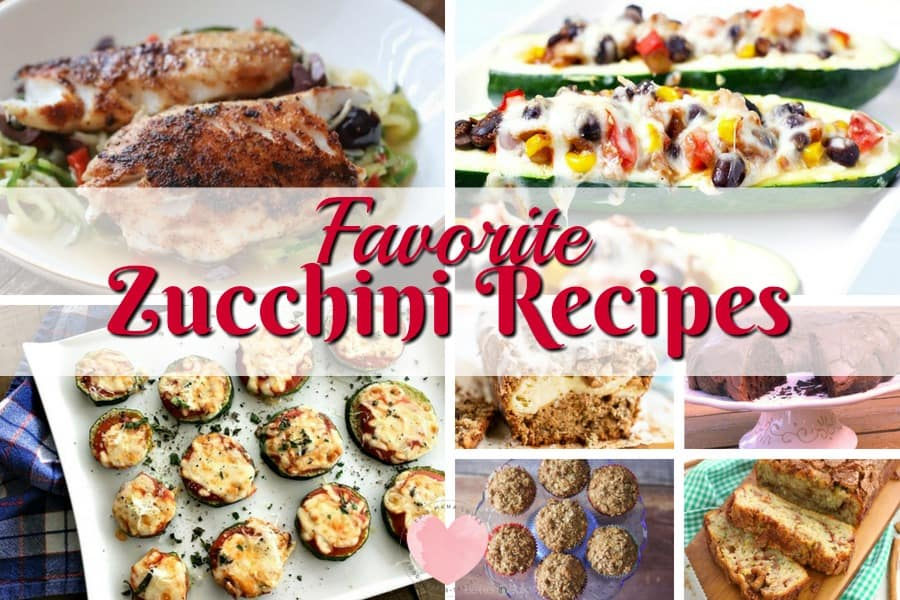 Easy Zucchini Recipes from This Mama Loves