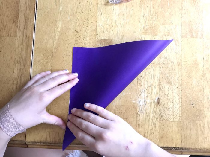 How to Make Page Corner Bookmarks fold 1