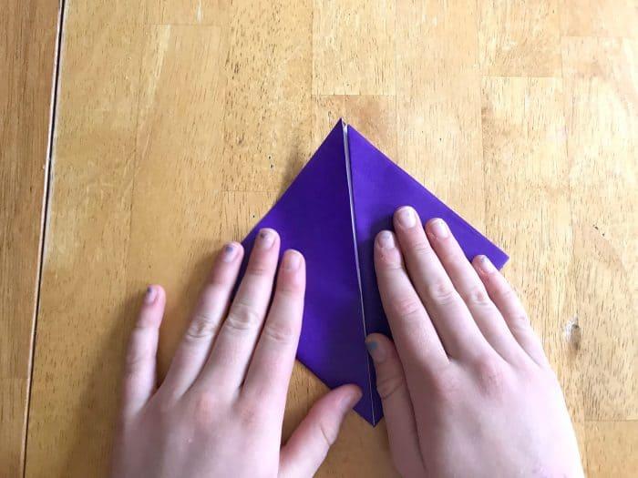 How to make page corner bookmarks diamond