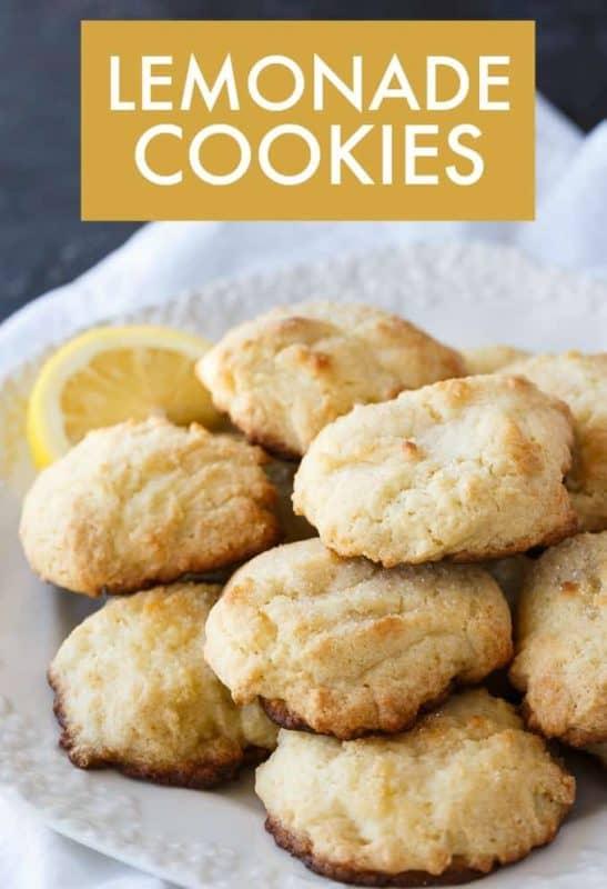 Lemonade Cookies from Simply Stacie