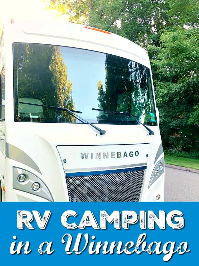Family RV Camping in a Winnebago Intent  - family camping- rv camping- Winnebago- family travel- family RV trip @GoRVing #WinnebagoLife #GoRVing