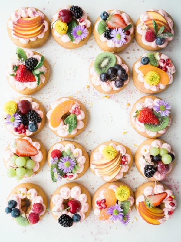 Scrumptious Donut Halos from Stone Gable Blog