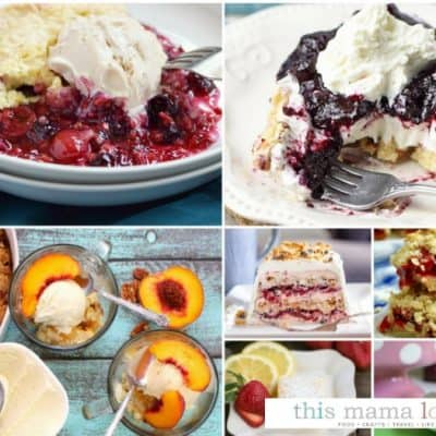 Easy Summer Dessert Recipes + Delicious Dishes Recipe Party