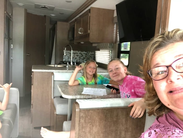 hitting the road in RV