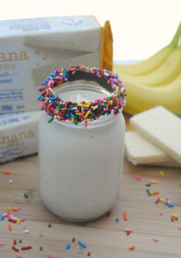 All Natural Banana Split Freakshake 5