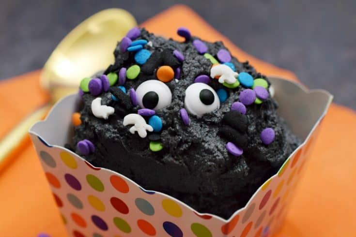 Halloween Edible Cookie Dough Recipe from This Mama Loves