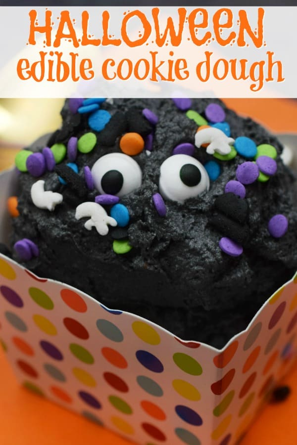 Halloween Edible Cookie Dough Recipe from This M