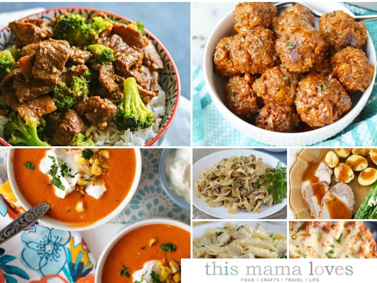 Instant Pot Dinner Recipes from This Mama Loves